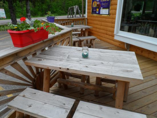 Lyndon Station, WI: outdoor dining