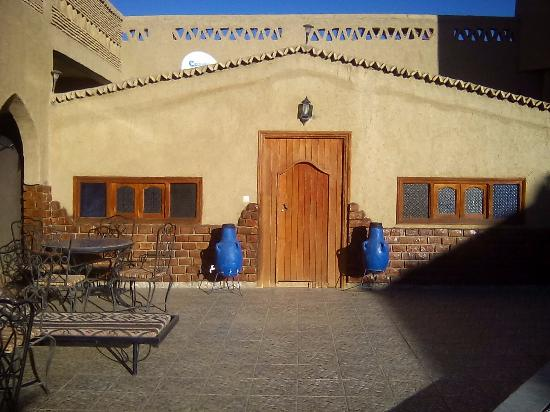 Riad Mamouche: 格安宿泊部屋(ドミトリー)の入り口