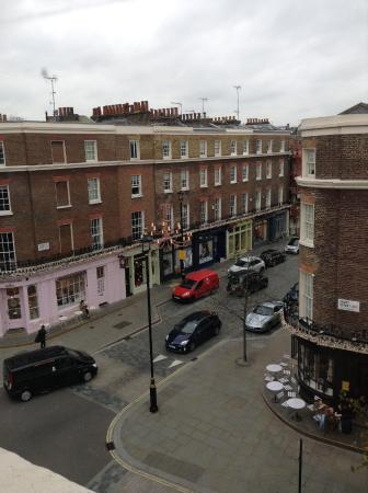 Lime Tree Hotel: View from Room 9