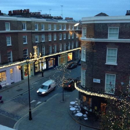 Lime Tree Hotel: View in the evening from top floor