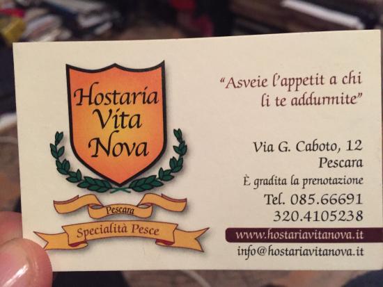 Hostaria Vita Nova: photo0.jpg