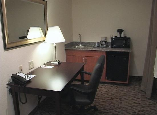 Saint Croix Falls, WI: All suites include a mini refrigerator and microwave!