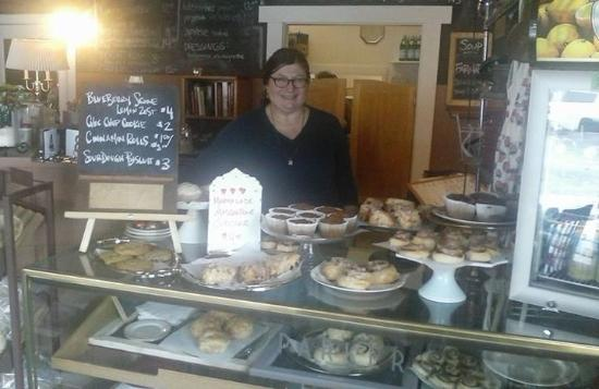 "Polson, MT: The owner and her ""wonderful"" baked goods."