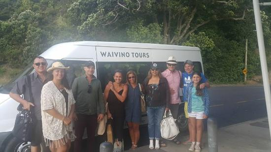 Waiheke Island, Nya Zeeland: Kia Ora Waivino!