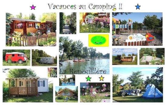 Sciez, France : Carte Postale du Camping