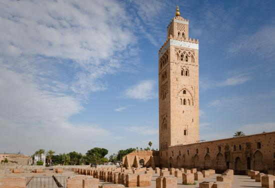 koutoubia minaret picture of koutoubia mosque and minaret marrakech tripadvisor. Black Bedroom Furniture Sets. Home Design Ideas