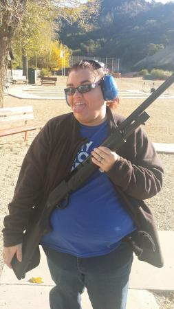 Newhall, แคลิฟอร์เนีย: Me with my gun