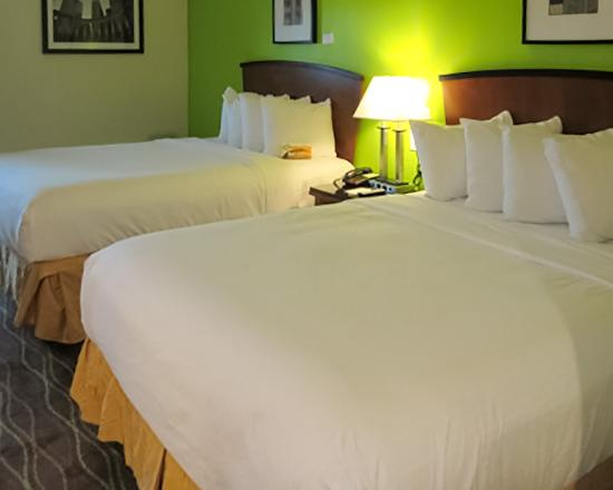 Quality Inn & Suites Downtown Nashville : Guest room