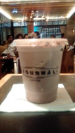 Djournal Coffee Grand Indonesia: double choco mocha at Djournal coffee, grand indonesia