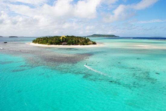 Stunning view of Mounu Island