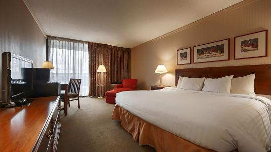 University Place Hotel and Conference Center : Comfort King