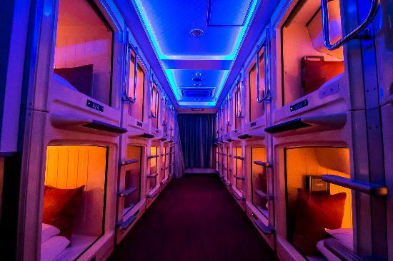 GrandPark-Inn Sugamo: カプセルルームは清潔でキレイ