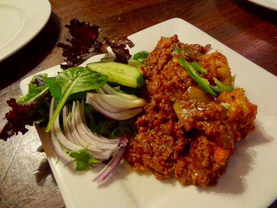 Maharaja Margaret River Restaurant: Our fav appetiser, prawns and onions (slightly spicy)