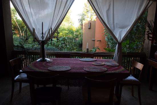 Dar Amane Guest Lodge: Nice dining area for breakfast