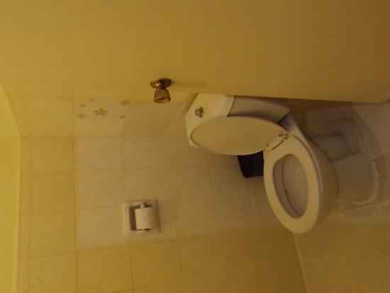 Park Hill Hotel Mactan: 部屋のトイレ