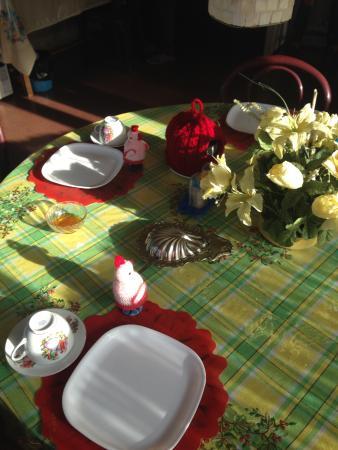 Aesthetics Home Stay : Завтрак в столовой