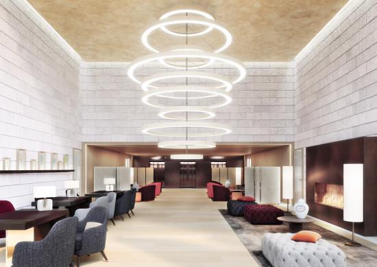 Burgenstock, سويسرا: Waldhotel - Lobby