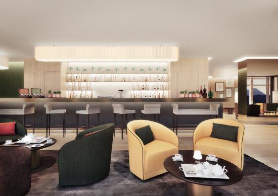 Burgenstock, سويسرا: Waldhotel - Bar
