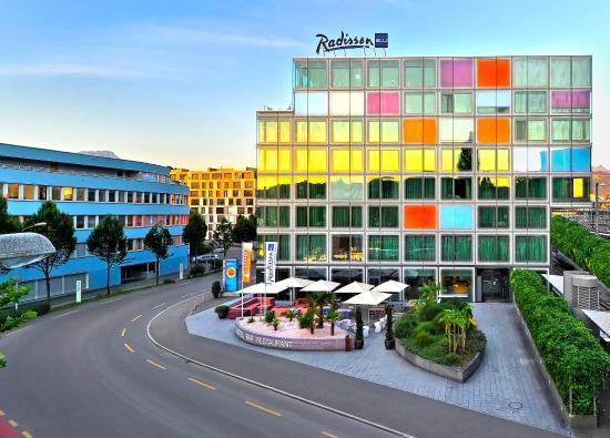래디슨 블루 호텔, 루체른