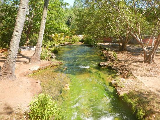 Mengeruda Hot Spring: Sungai kecil tempat air panas yang terus mengalir