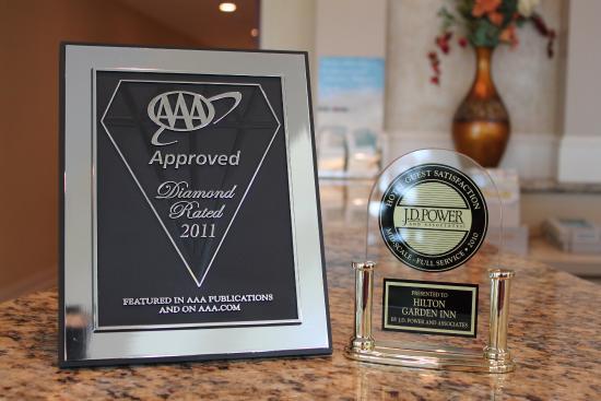 Hilton Garden Inn Riverhead: Awards