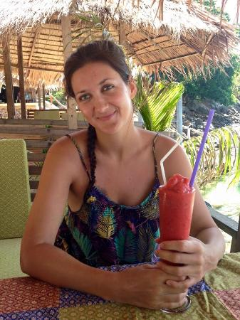 Phi Phi Hill Resort: Best strawberry shake