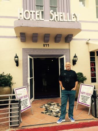 Hotel Shelley: Entrada do hotel