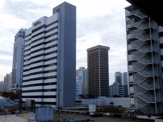 Metro Hotel Panama : Room view