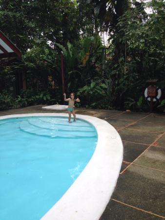 Namuwoki Lodge: Restaurante e zona de piscina