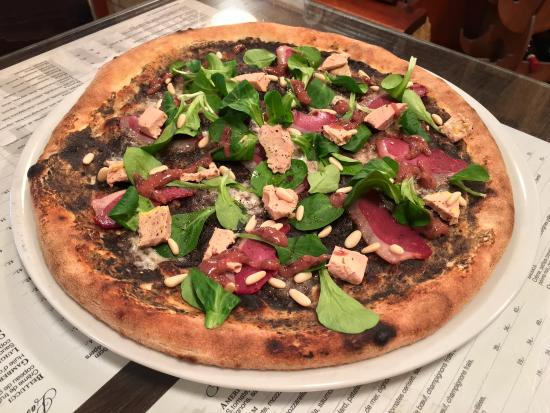 Payerne, Suiza: Pizza Gioia