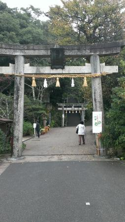 Tamatsukuriyu Shrine: 参道入り口