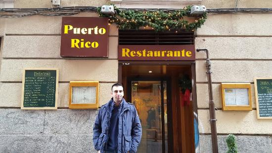 Picture of restaurante puerto rico madrid for Restaurante puerto rico madrid