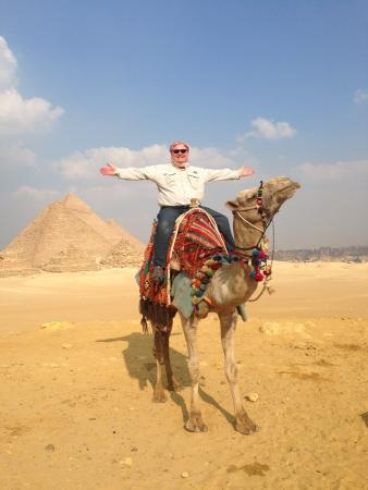 The World Famous Pyramids Sound and Light Show in Giza: Camel ride Giza Plateau