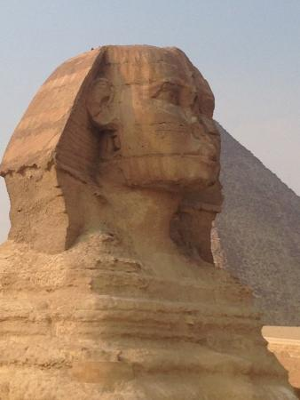 The World Famous Pyramids Sound and Light Show in Giza: Sphinx