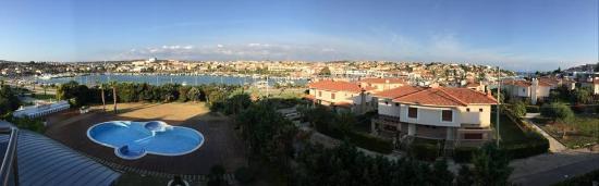 Sisus Hotel: Sisus Otelde kaldığım Oda manzarası