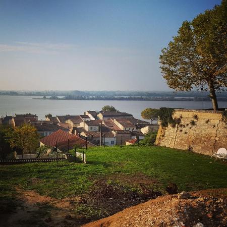 Bourg, Frankrijk: Vue sur la Dordogne
