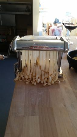 Burien, วอชิงตัน: Our beautiful pasta!