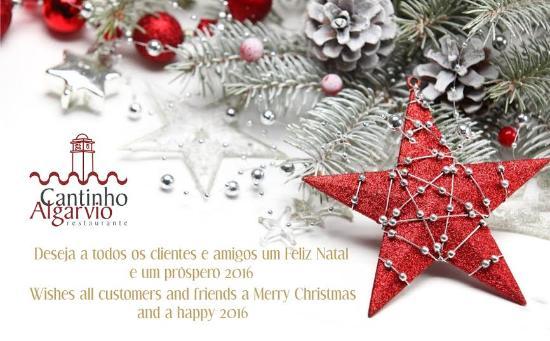 A Todos Os Nossos Clientes Feliz Natal Prospero Ano Novo Foto De