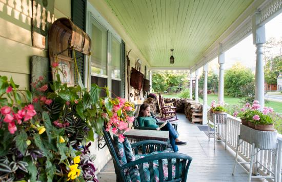 Keene Valley, NY: Relax on our wrap-around front porch
