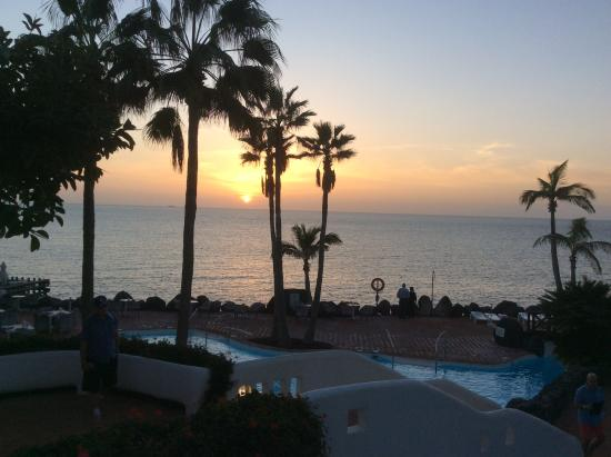 Zonsondergang Bij Adults Only Picture Of Hotel Jardin Tropical