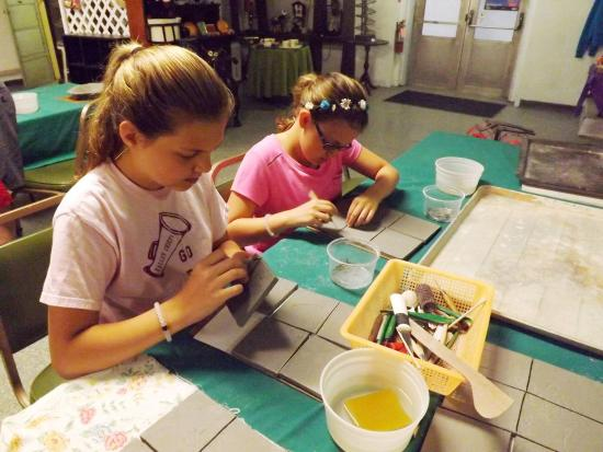 Tamaqua, PA: Pottery Camp