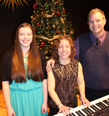 Tamaqua, เพนซิลเวเนีย: Susan Featro & Friends at her 2015 Christmas concert