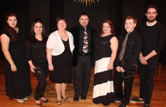 Tamaqua, Pensilvania: Andrew Llyod Webber cabaret