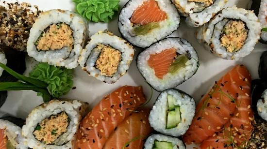 Kilbrittain, Irlandia: Sushi night @ The Pink