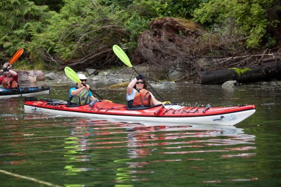 Port Alberni, Canada: Kayakers
