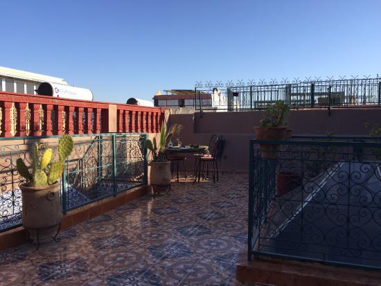 Hotel Sindi Sud: la terrazza di hotel