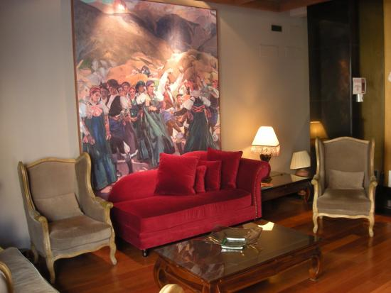 Hotel Sancho Abarca: Salones