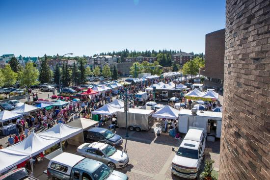Over 250 vendors at the St. Albert Farmers' Market