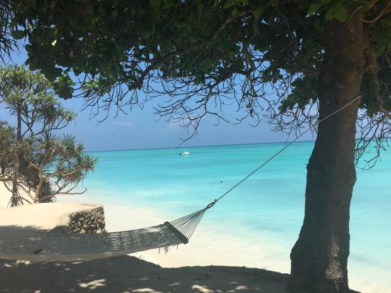 Ras Nungwi Beach Hotel: много гамаков