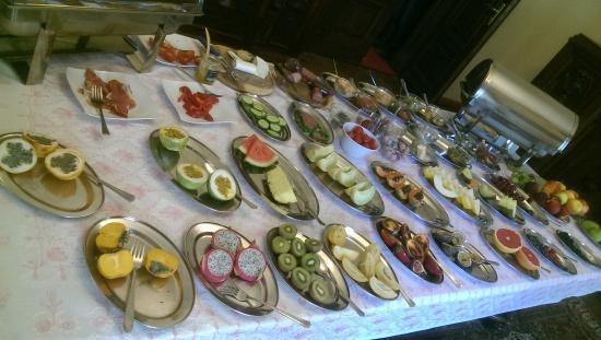 Pension Potsdam: Desayuno buffet